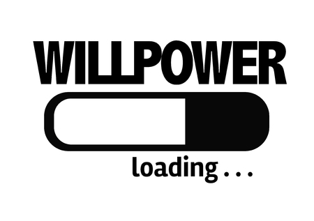 willpower: Progress bar loading with the text Willpower