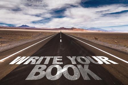 Escribir su libro escrito en la carretera