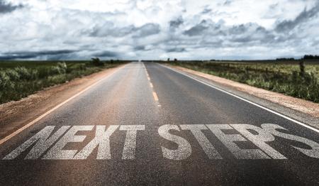 next horizon: Next steps written on the road