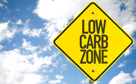 carb: Low Carb Zone sign with sky background