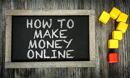 web hosting: How To Make Money Online written on chalkboard