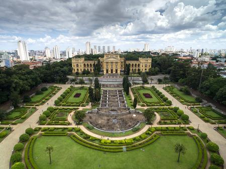 Luchtfoto van Ipiranga, Sao Paulo, Brazilië