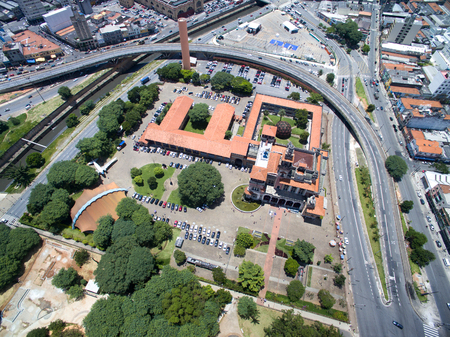 dom: Vue aérienne de Dom Pedro II Park, Sao Paulo, Brésil