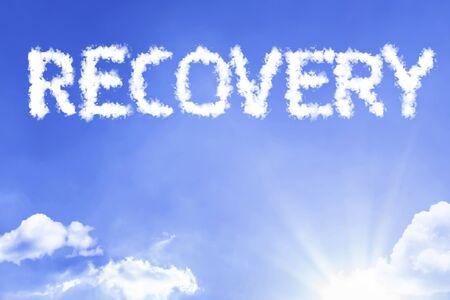 Recovery with sky concept Reklamní fotografie