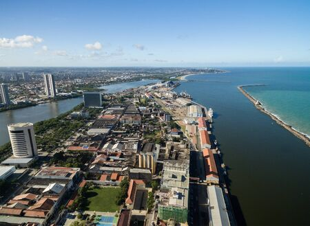 View of a city in Recife