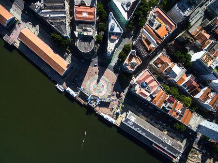 Aerial view of Rio Branco Square