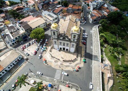 View of the church of Nosso Senhor do Bonfim in Salvador, Bahia