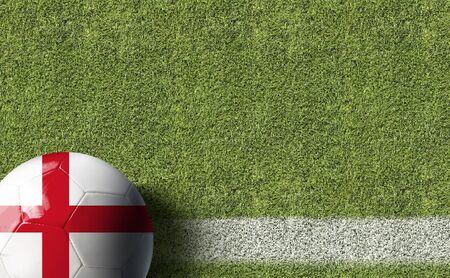 England themed soccer concept