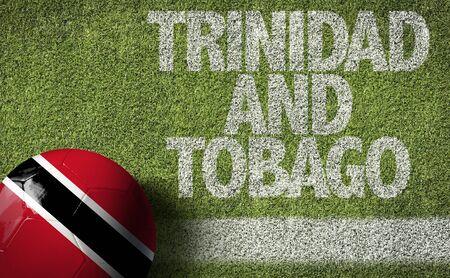 Trinidad and tobago themed soccer concept Stok Fotoğraf