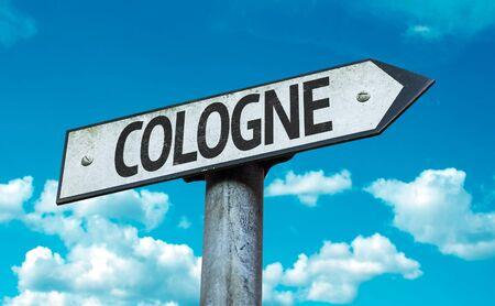 Cologne cloud signage