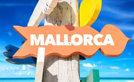 Mallorca signage