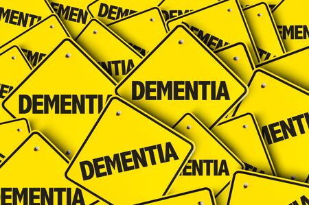 Signs with the word Dementia