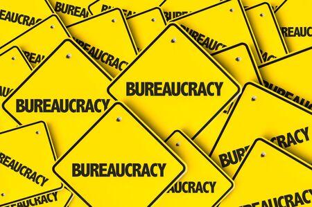 Signes avec le mot bureaucratie