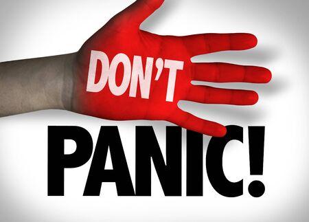 Dont Panic concept