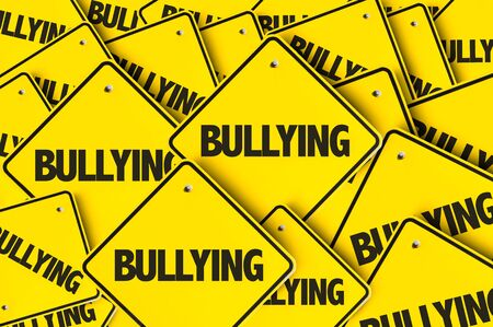 Signs with the word Bullying