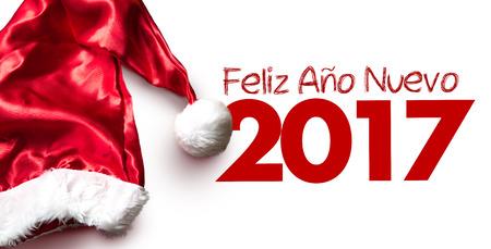 Happy New Year (in Spanish) Stock Photo