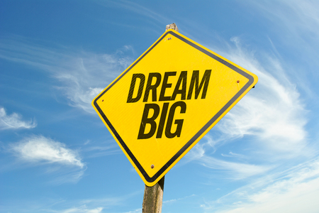 dream big Stock Photo