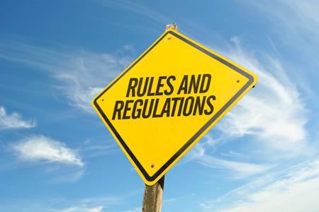 Reglas y Reglamentos Foto de archivo
