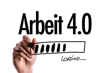 Work 4.0 (in German) Imagens