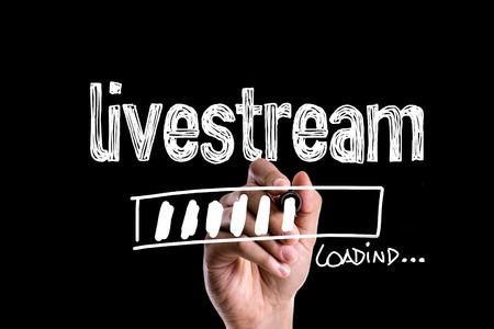 Livestream laden
