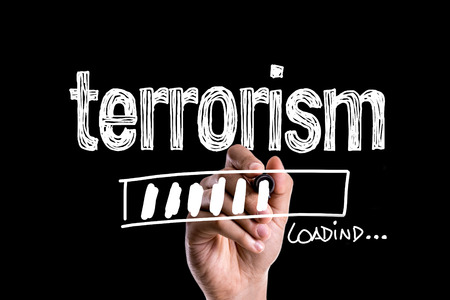 Terrorism loading Stock Photo