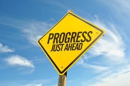 Progress Just Ahead Imagens