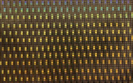 degrade: Texture in metallic paper with colored gradient with polka dots