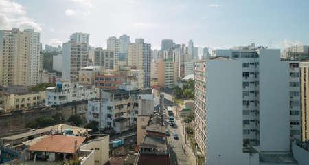 Aerial view of buildings in the city of Salvador Bahia. Foto de archivo