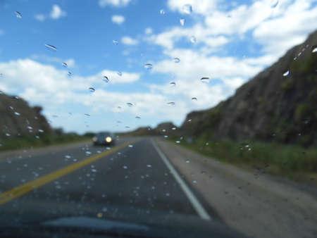 serrano way in rain