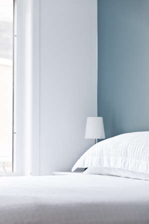 Empty domestic bed Stock Photo - 9473922