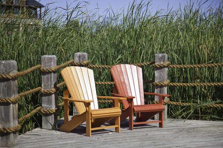 Muskoka Chairs Stock Photo - 11499690