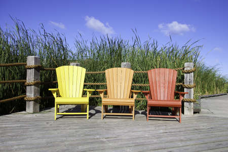 Muskoka Chairs Stock Photo - 11499684