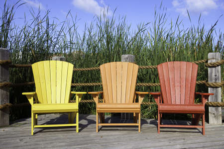 Muskoka Chairs Stock Photo - 11499685