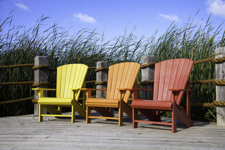 Muskoka Chairs Stock Photo - 11499689
