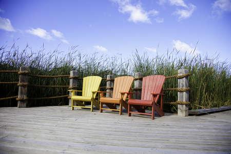 Muskoka Chairs Stock Photo - 11499687