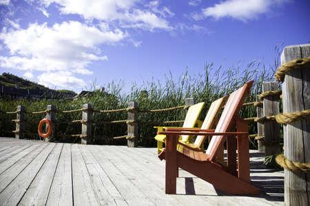 Muskoka Chairs Stock Photo - 11499686