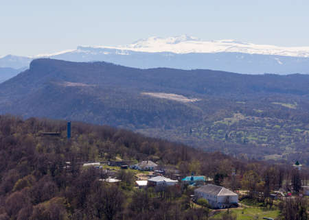 fisht: Early spring in vicinities of Mount Fisht