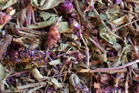 teas: Herbal teas herbs, homeopathy. vegetable raw materials for preparation of tea beverages, medicinal product. alternative medicine