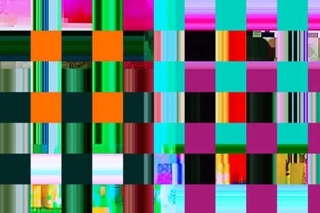 tv screen: colorful abstract background texture. glitches, distortion on the screen broadcast digital TV satellite channels