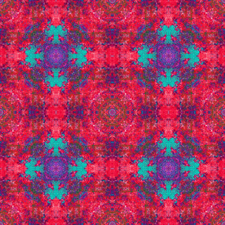 bright colorful abstract decorative pattern with a kaleidoscope effect. for greetings or wrapping paper