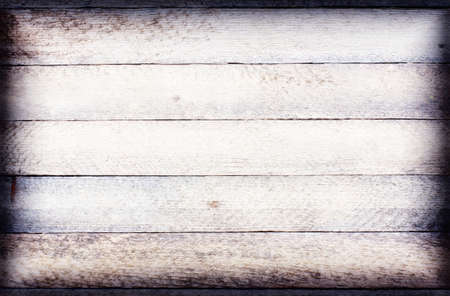 high key: old white wood texture grunge background with horizontal boards. toned high key vignette