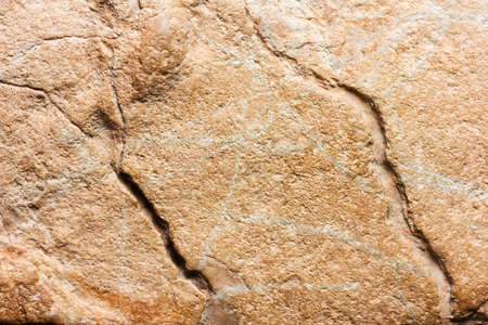 Light brown stone background texture of the flagstone