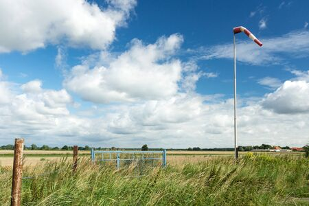 windsock: Windsock on a small Airfield in Germany