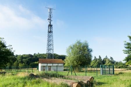 LTE base station Stock Photo - 16266406