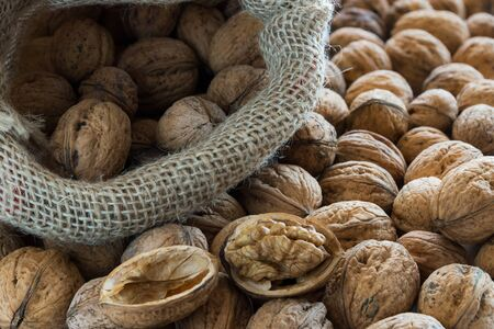 Walnuts with Bag photo
