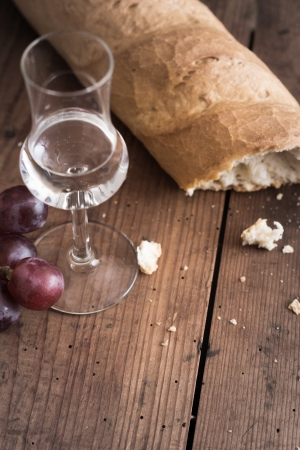 distillate: italien Grappa with Grape and Bread