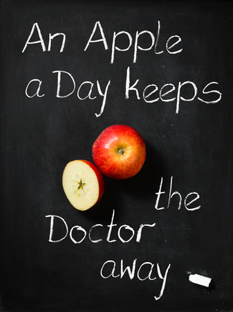 keeps: An Apple a Day -  keeps the Doctor away