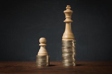 Einkommensunterschiede zwischen Arm und Reich