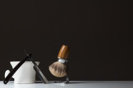 Shaving Tools Standard-Bild