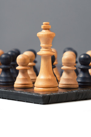 no way out: group of Pawns against the King